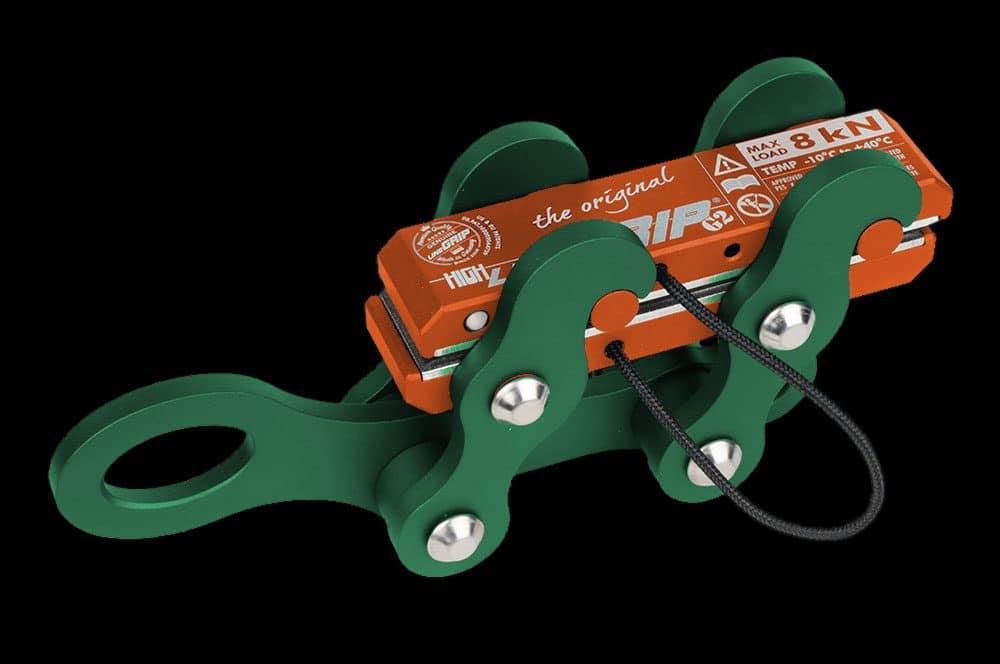 highlineGrip SBR green-orange