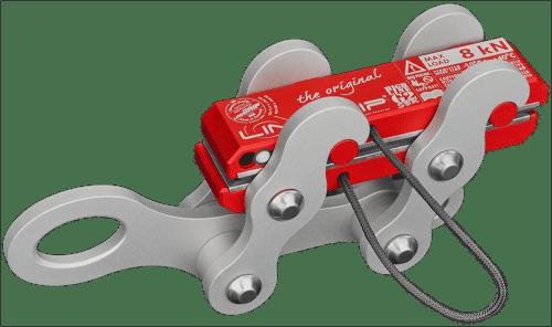 highlineGrip G2-SBR lineGrip webbing clamp for rigging tensioning slacklines