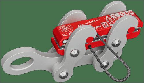 longlineGrip G4-SBR lineGrip webbing clamp for rigging tensioning slacklines