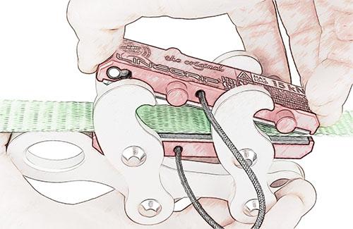 linegrip remove sbr plate