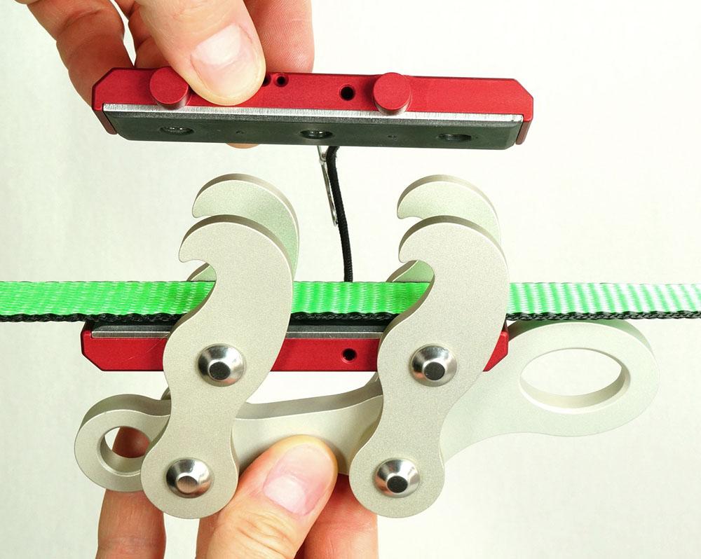 linegrip swivel hooks mounting line