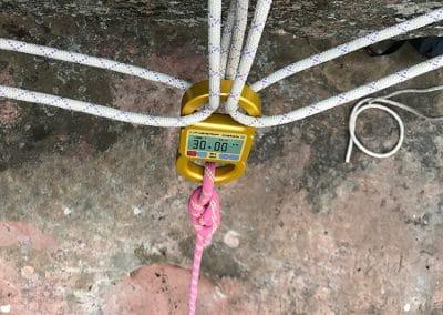 lineScale-2 digital bluetooth dyno rigged w. static rope