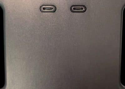 LineScale-3 prototype USB ports