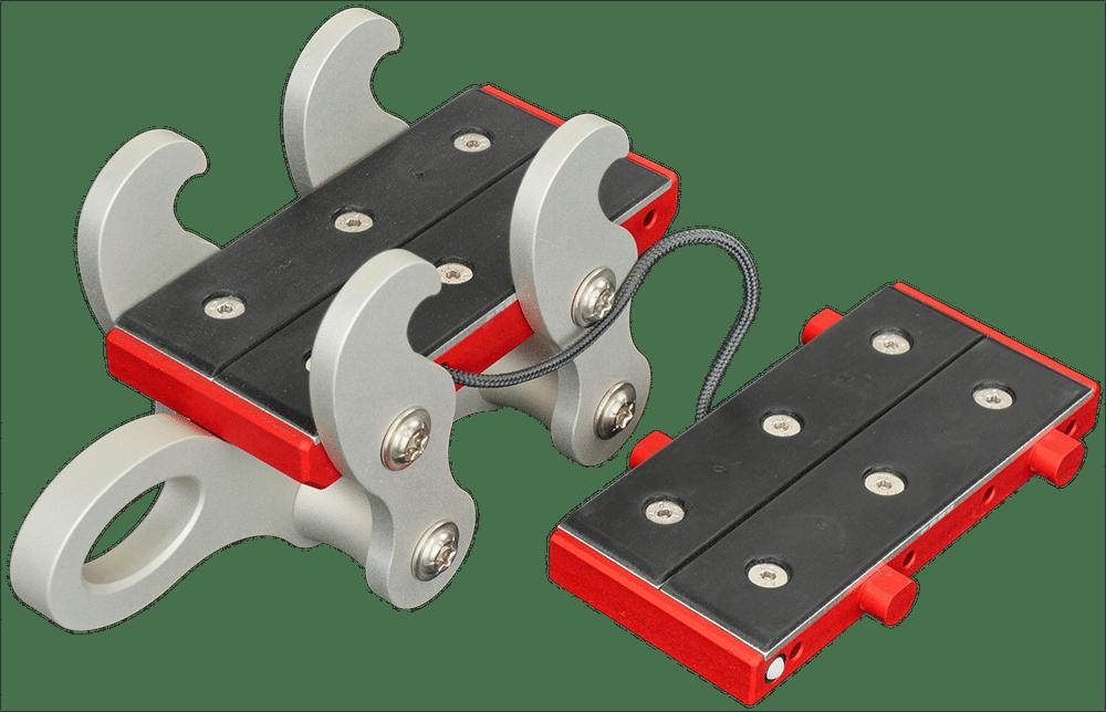 linegrip tricklinegrip quad rubber plate